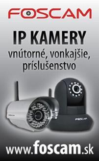 Objavte IP kamery FOSCAM